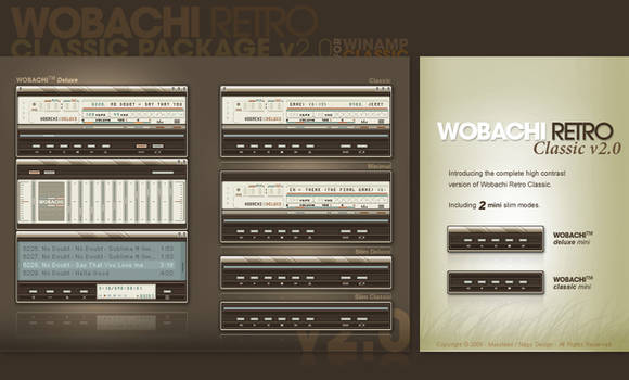 Wobachi Retro Classic v2.0