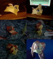 Malon half mask progress + download