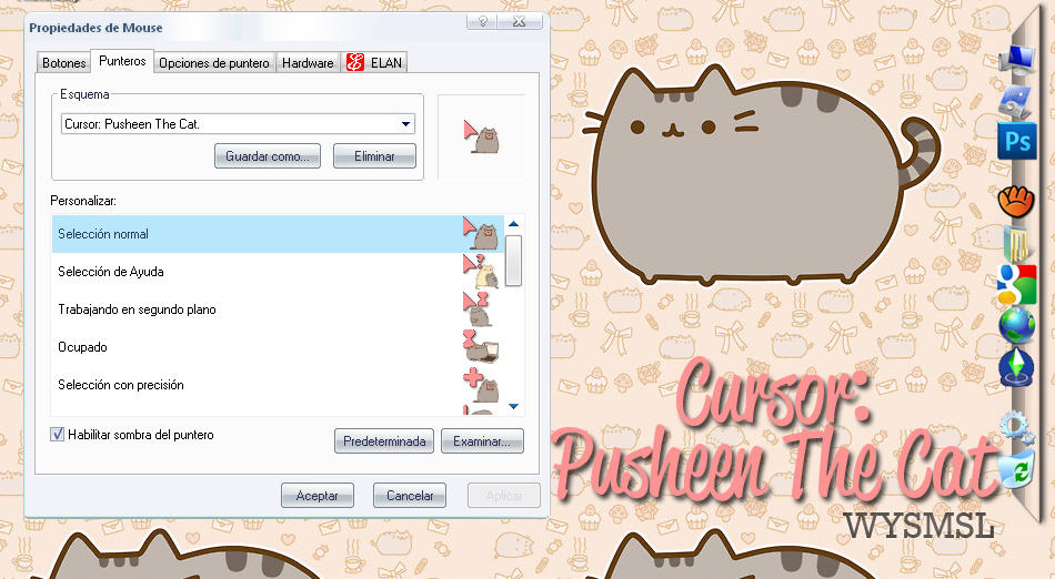 Animated Cat Cursor Set