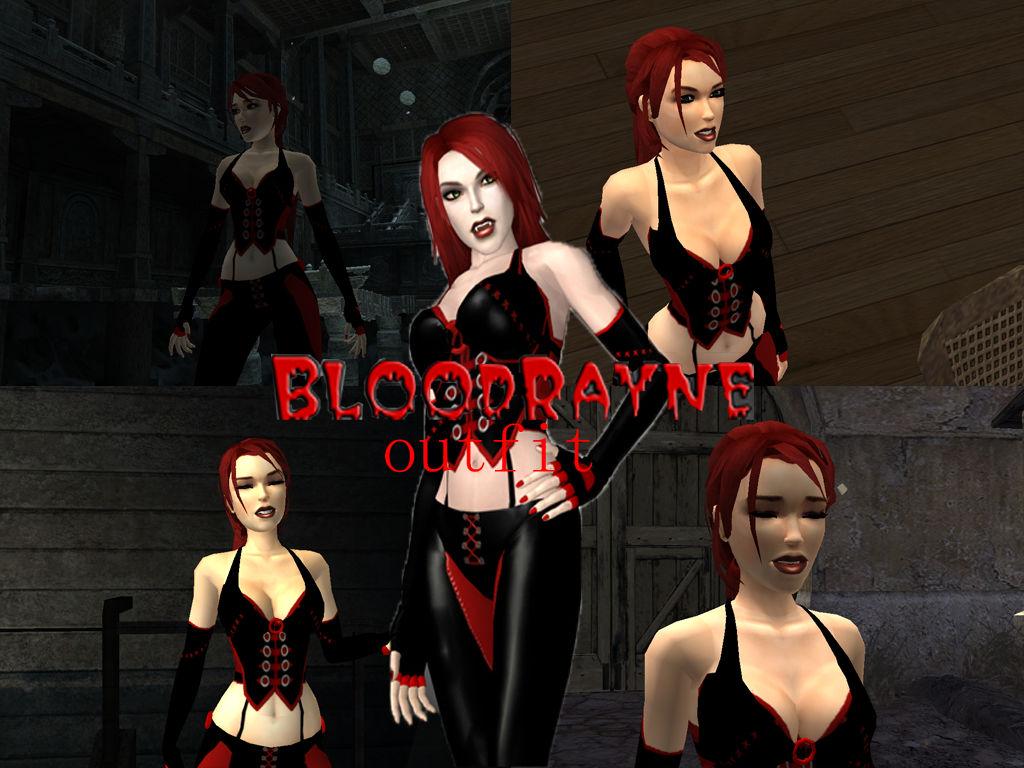 Tomb Raider Legend Bloodyrane Outfit By Vlade98 On Deviantart