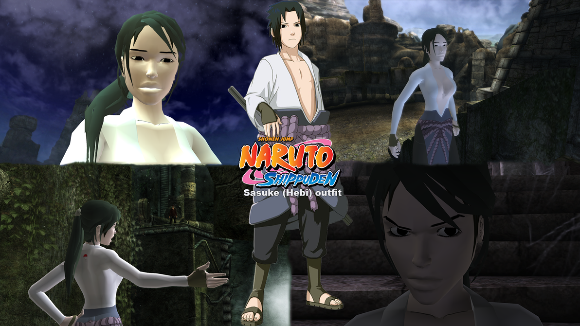 Tomb raider anniversary sasuke hebi outfit by vlade on