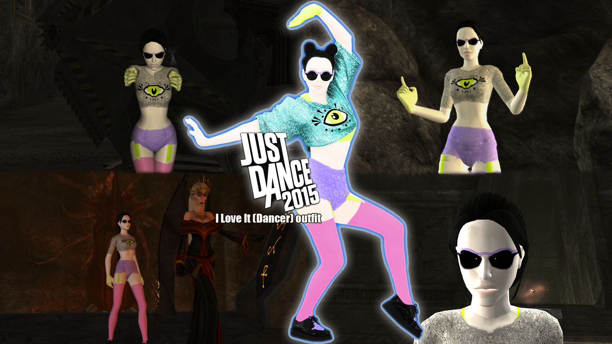 Tomb raider anniversary i love it dancer outfit by vlade on