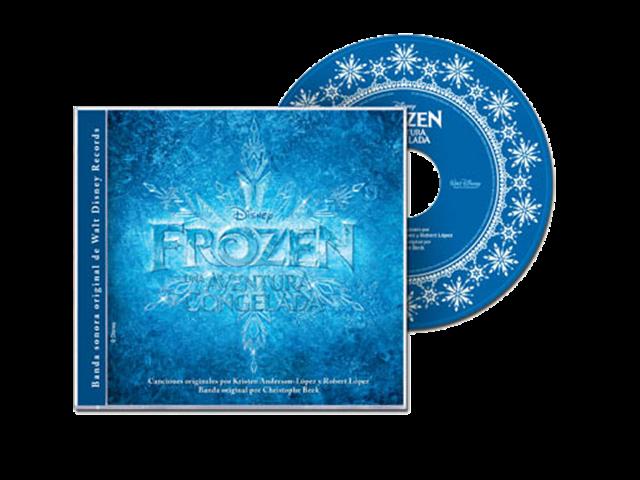 Frozen Una aventura congelada CD by Fernanda1802 on DeviantArt