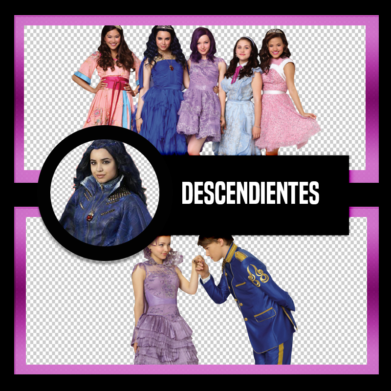 Pack PNG de Descendientes by Fernanda1802