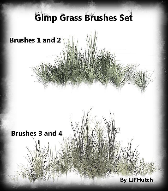 Gimp Anim. Grass Brushes Set by LJFHutch