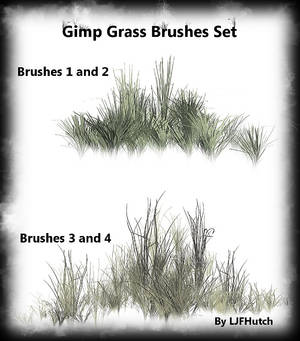 Gimp Anim. Grass Brushes Set