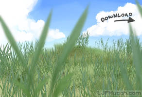 Gimp Grass Brushes 5 - Animated by LJFHutch