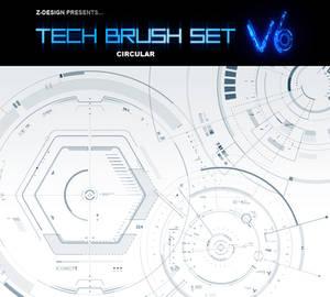 Z-DESIGN Tech Brush Set v6