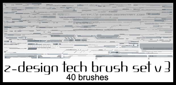 Z-Design Tech Brush Set v3