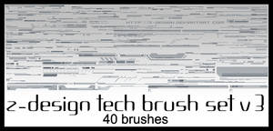 Z-Design Tech Brush Set v3 by z-design