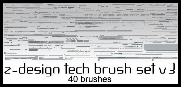 Z-Design Tech Brush Set v3