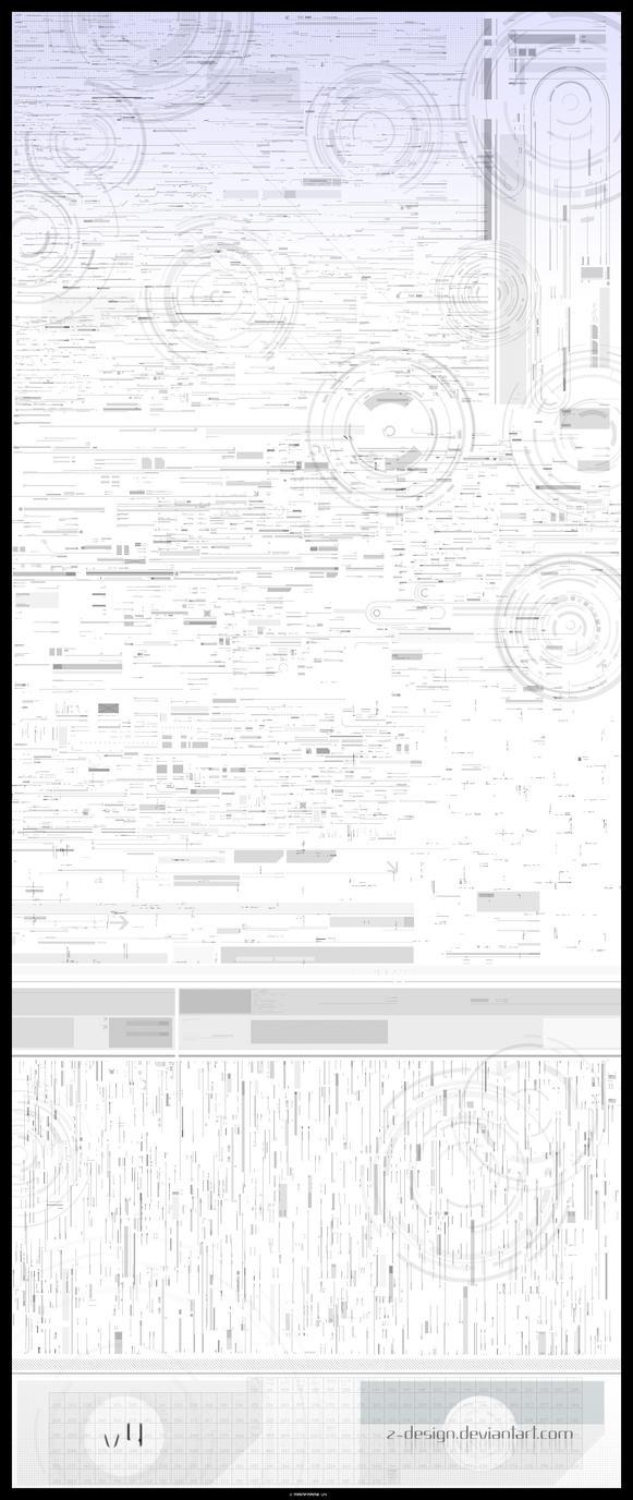'Mainframe' Tech brush set v4 by z-design