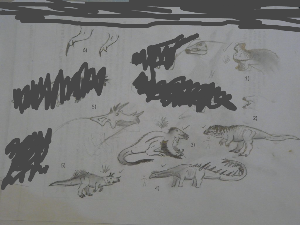 Spec Saturday - More Meg Dinos by SpeculaTimsauru5