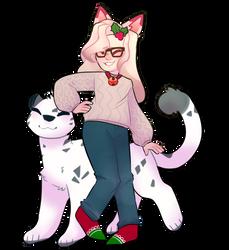 big kitten by rosesolis