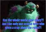 Angry Sully Meme