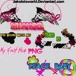 My Frist Pack Text PNG