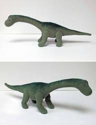 Brachiosaurus Amigurumi
