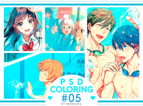 // PSD COLORING #05