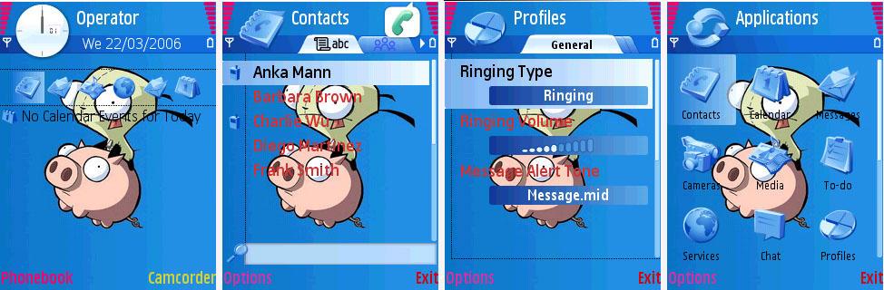 Fear Symbian Theme Xavier Themes