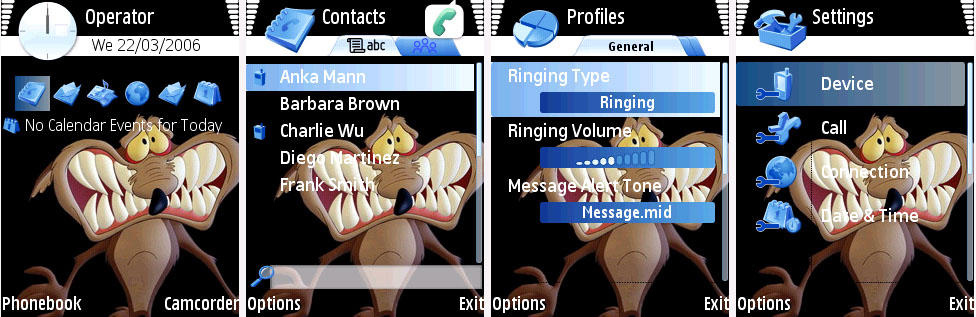 Willy il coyote symbian theme by pcexpert on deviantart