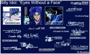 BillyIdol: Eyes Without a Face