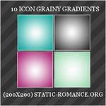 Grainy Gradient Icon Textures