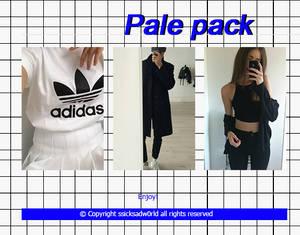 Pale pack