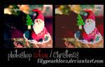 photoshop action christmas