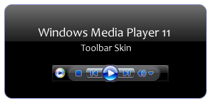 WindowsMediaPlayer 11 Toolbar by juanchis