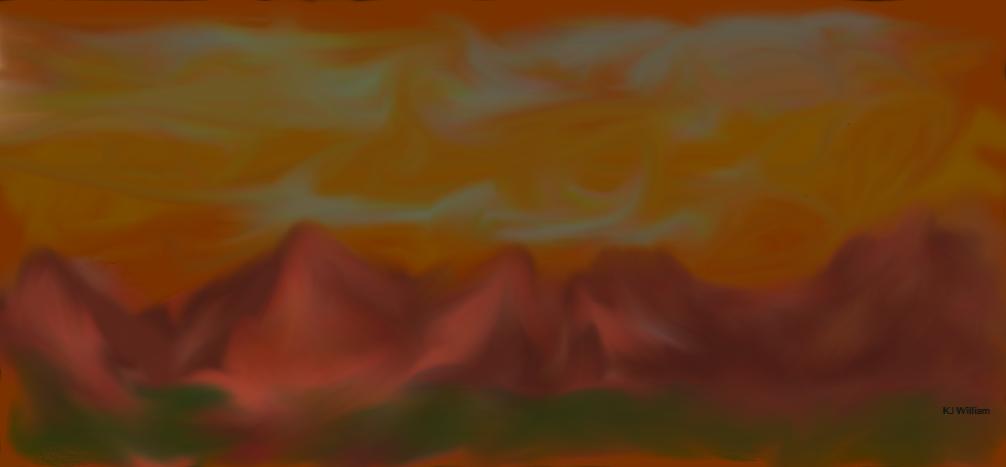 Mountains by kjwills