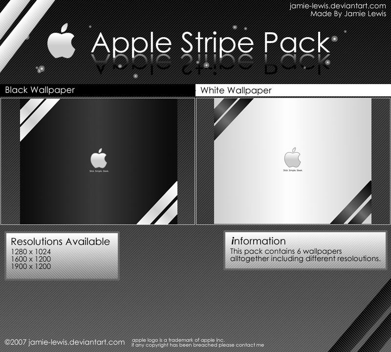 Apple Stripe Pack by jamie-lewis