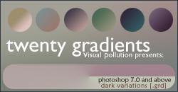 gradients: dark variations