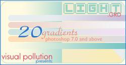 gradients: light variations