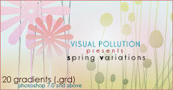gradients: spring variations by YoungWoong