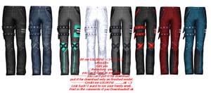 Boy Pants P3 (lulirine+sims4)
