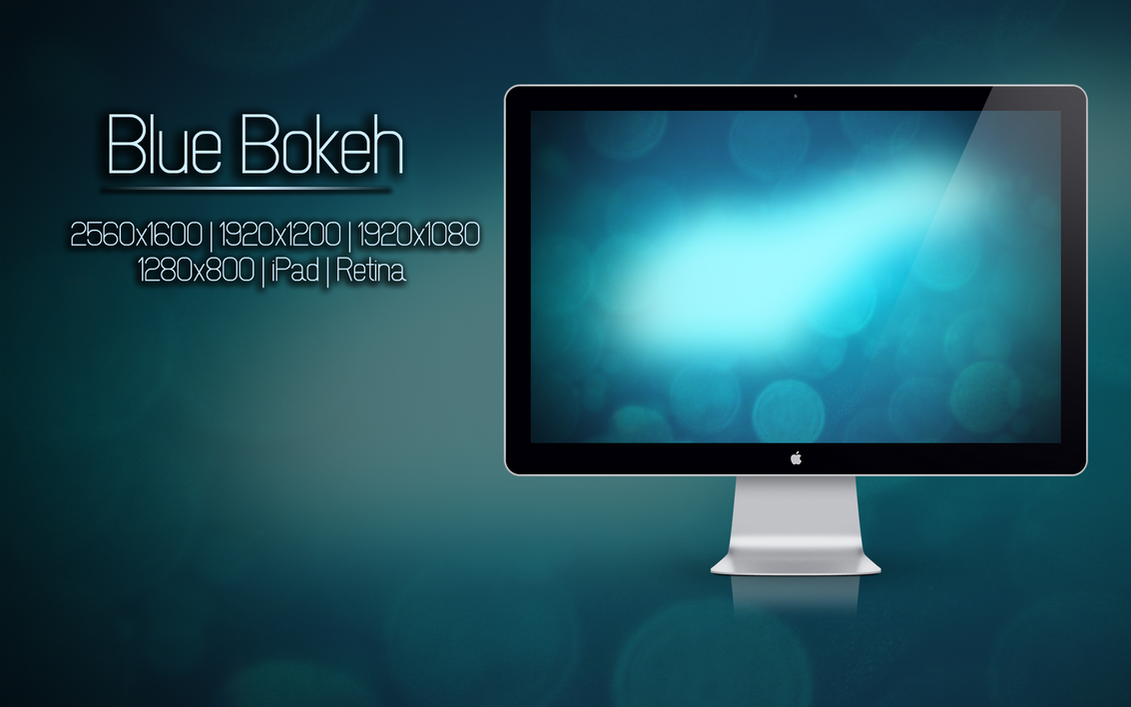 Blue Bokeh by EchozDisciple