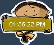 desktop chinnu clock by anoop-pc