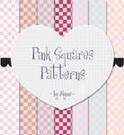Pink Squares Patterns