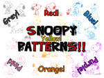 Funny Snoopy Patterns