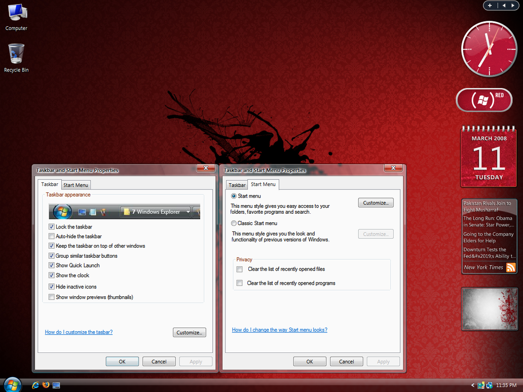 Explorer and Netshell Updates by Picassa243