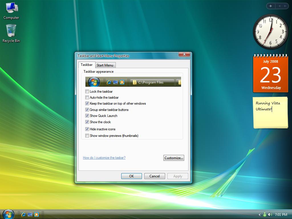 Vista Explorer for XP v1.3 by Picassa243