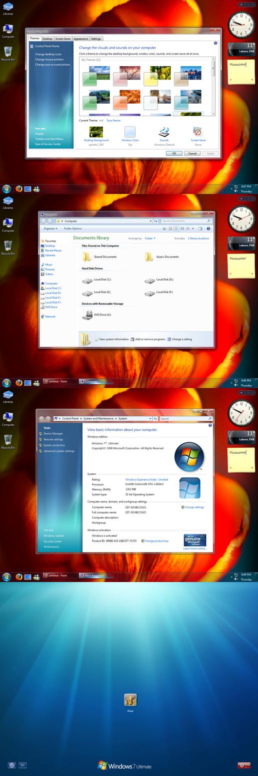 Windows-7 Customization Pack by Picassa243