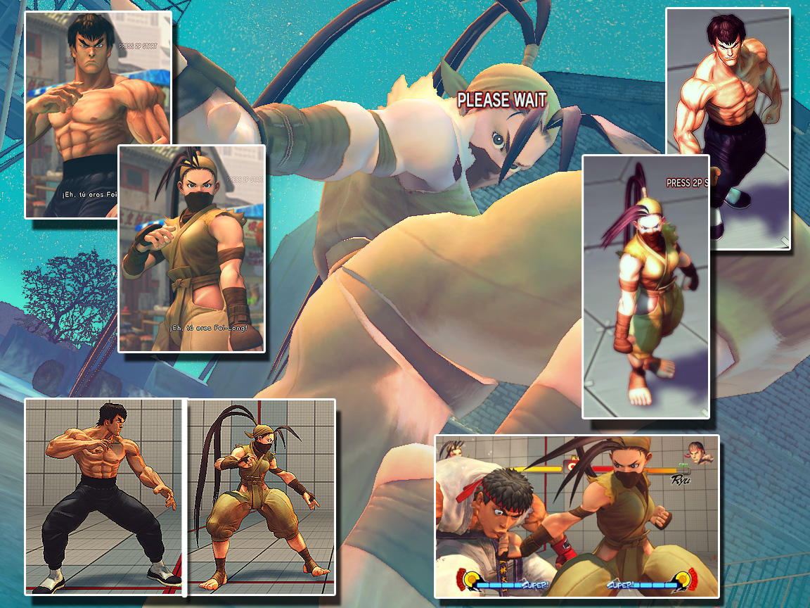 SF4 Skin pc - REAL IBUKI by Siegfried129