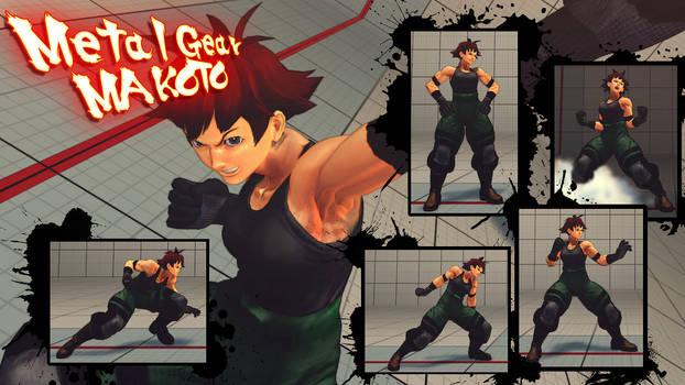 metal gear Makoto by Siegfried129