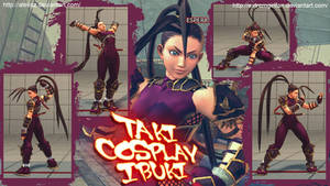 Taki Cosplay Ibuki by Siegfried129