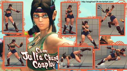 super dtreet fighter 4 - cammy cosplay julia chang by Siegfried129