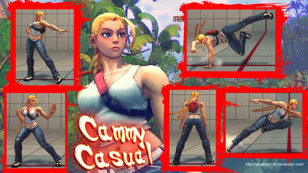 Super street fighter 4 PC - CAMMY CASUAL by Siegfried129