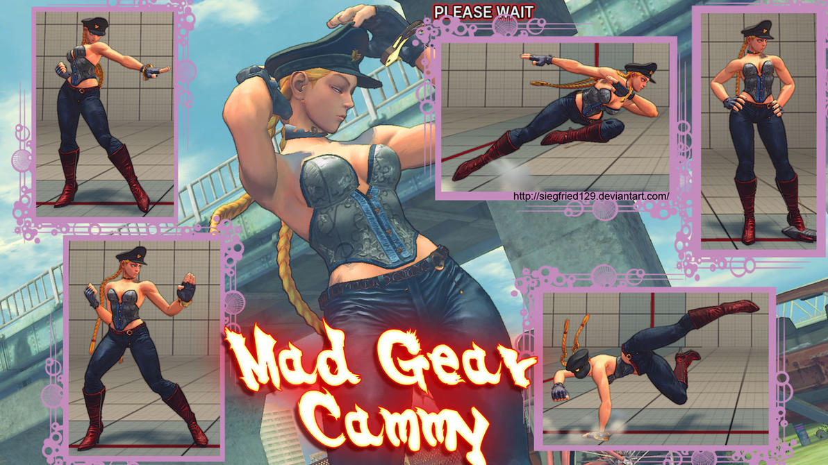 Super street fighter 4 PC - Mad Gear Cammy by Siegfried129