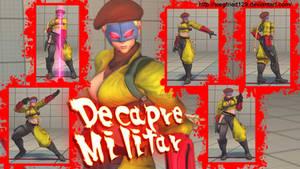 Ultra street fighter 4 PC -  Decapre Militar
