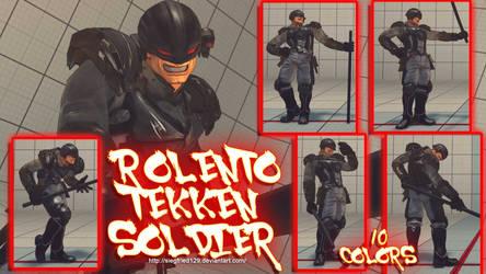 USF4 - Rolento Tekken Soldier by Siegfried129